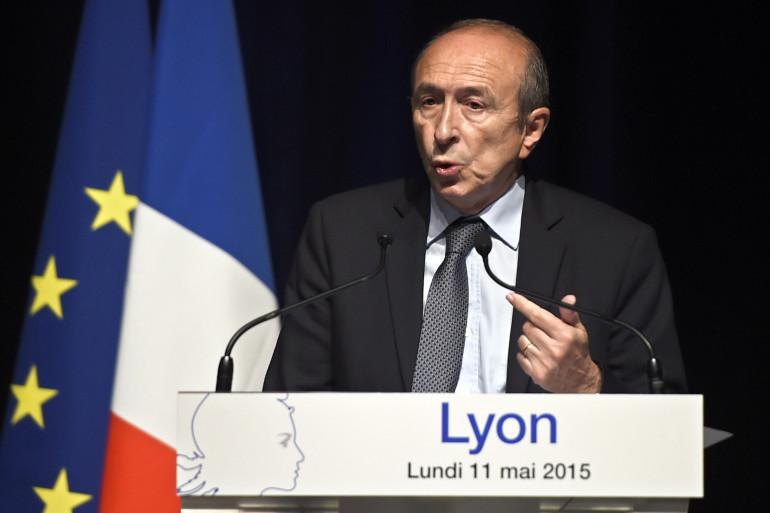 Gérard Collomb à Lyon en 2015