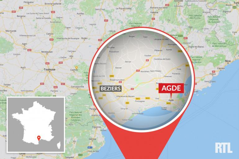 Le drame a eu lieu dans la ville d'Agde, dans l'Hérault (illustration)