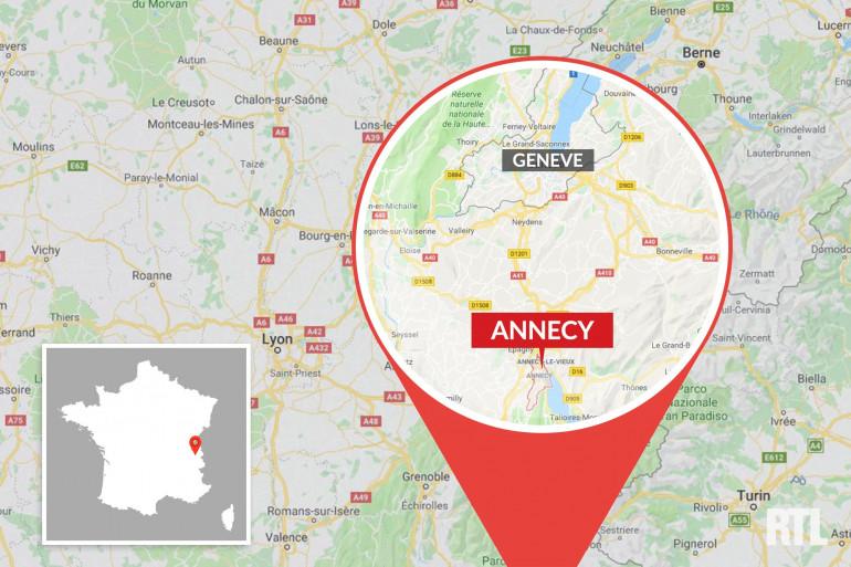 La ville d'Annecy en Haute-Savoie