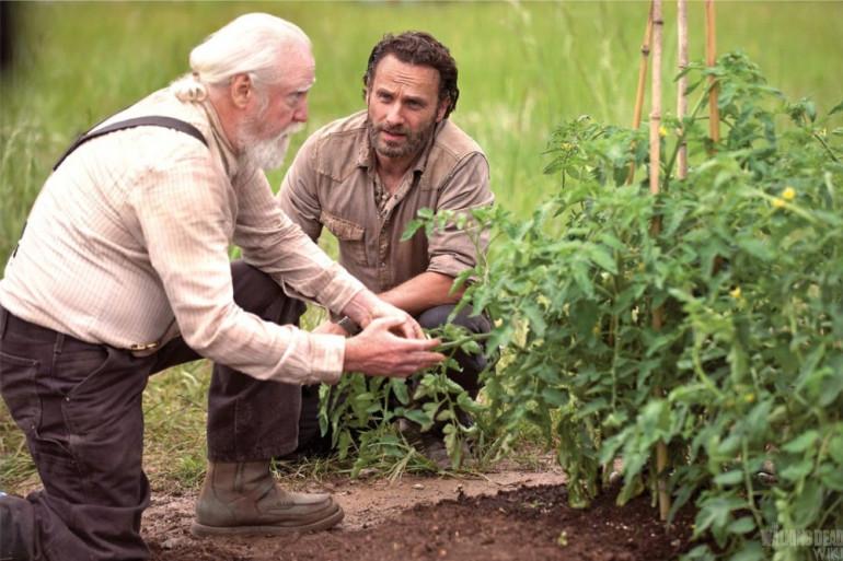 """Scott Wilson et Andrew Lincoln dans """"The Walking Dead"""""""