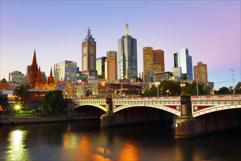 Melbourne concentre à elle seule 20% de la population australienne (illustration)