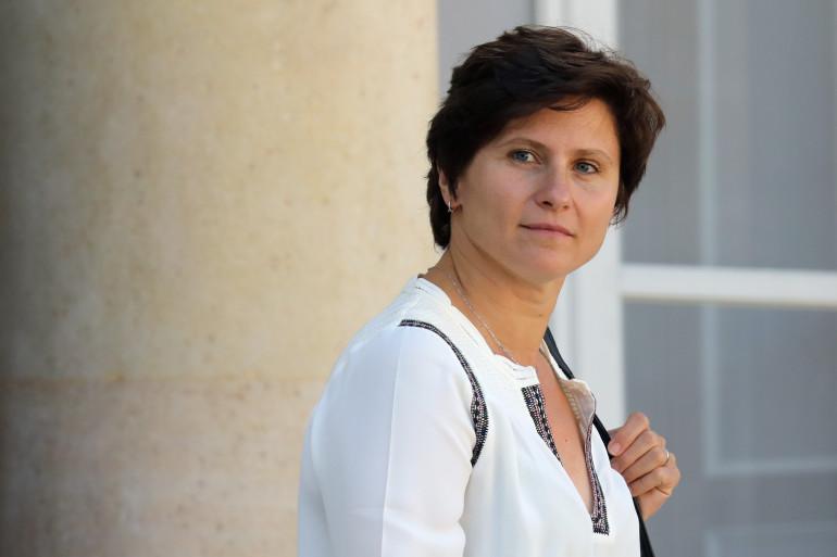 La ministre des Sports Roxana Maracineanu le 12 septembre 2018 à l'Élysée