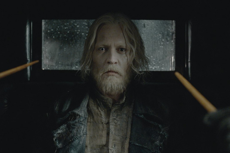 """Johnny Depp dans """"Les Animaux fantastiques : Les crimes de Grindelwald"""""""