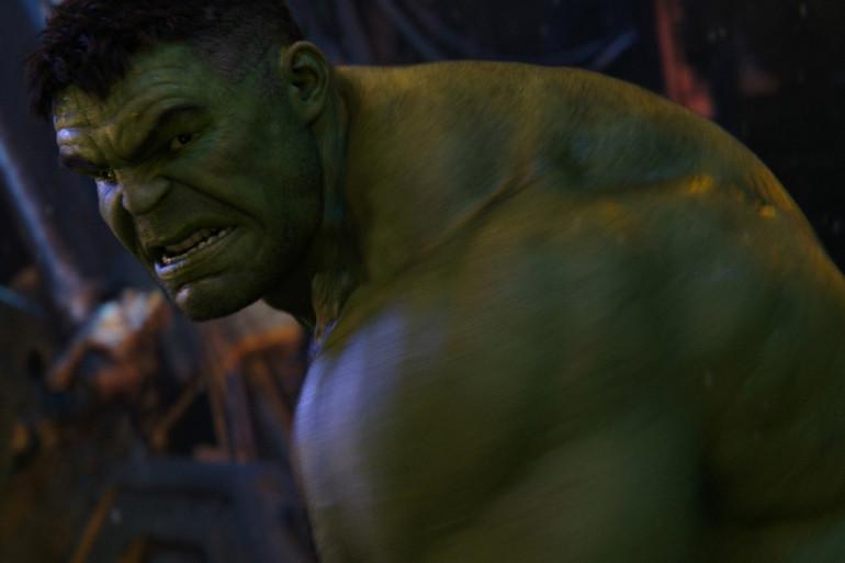 """Mark Ruffalo dans la peau de Hulk dans """"Avengers : Infinity War"""""""