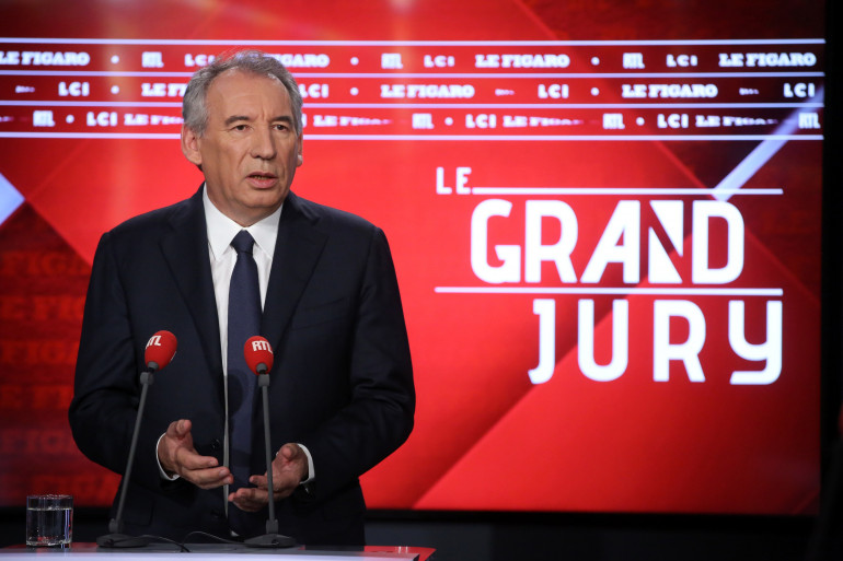 """François Bayrou, invité du """"Grand Jury"""" dimanche 14 octobre 2018"""