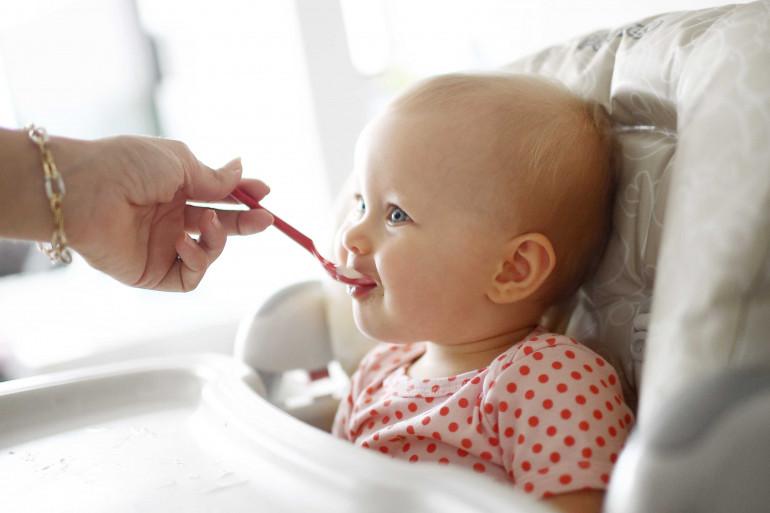 """Le nouveau logo """"Destiné à l'alimentation du tout petit"""" a été dévoilé le 16 octobre."""