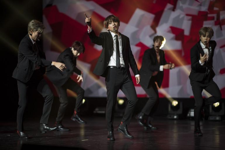 Le groupe BTS connaît une ascension fulgurante depuis plusieurs années