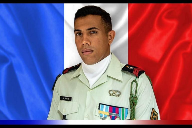 Le Caporal Abdelatif Rafik, tué accidentellement au Mali le 17 octobre 2018