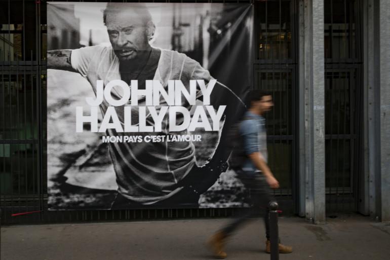 """Le dernier album de Johnny Hallyday, """"Mon pays c'est l'amour"""" est sorti le 19 octobre 2018"""