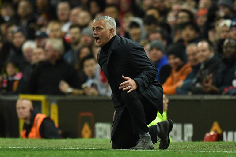 José Mourinho avec Manchester United le 6 octobre 2018
