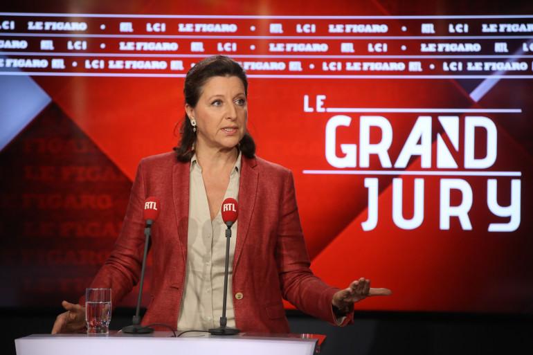 """La ministre de la Santé et des Solidarités Agnès Buzyn était l'invité du """"Grand Jury"""" dimanche 21 octobre 2018"""