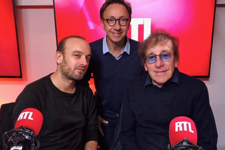Ours, Alain Souchon et Stéphane Bern