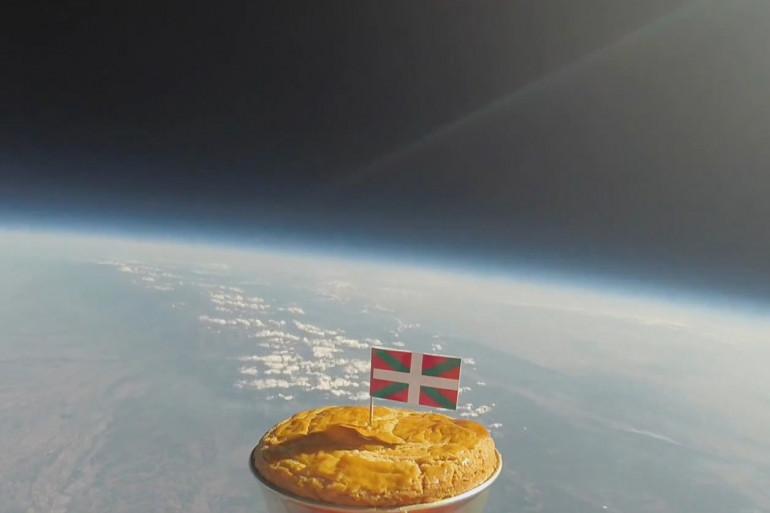 Pays basque : des scientifiques ont envoyé un gâteau dans  l'espace