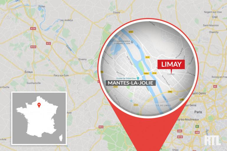 La commune de Limay, à côté de Mantes-la-Jolie, dans les Yvelines