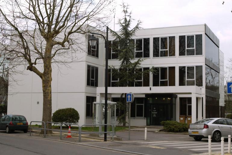 Les locaux de la police judiciaire à Nanterre