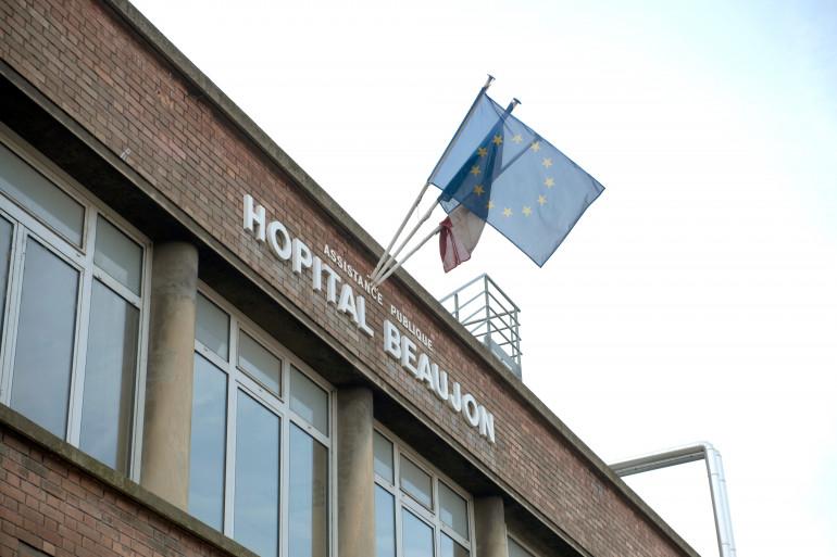 L'hôpital Beaujon, à Clichy