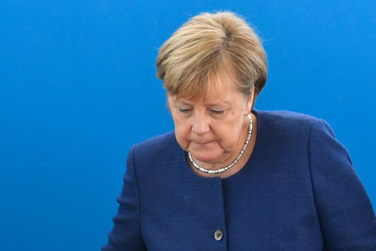 Angela Merkel à Berlin le 15 octobre 2018