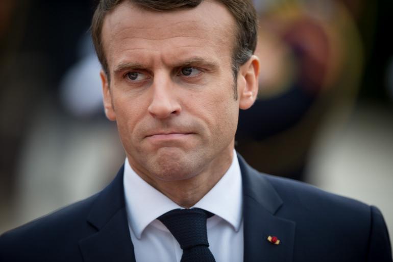 Emmanuel Macron, le 26 octobre 2018 en Slovaquie
