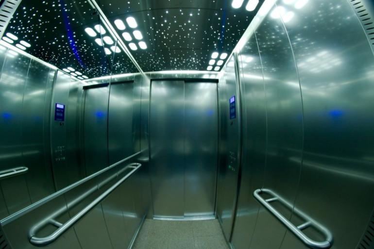 Un ascenseur (illustration)