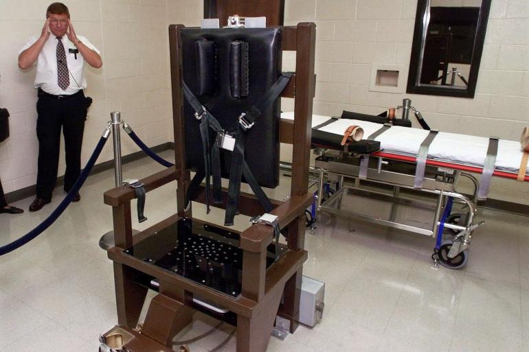 Les condamnés à mort auront le choix entre la chaise électrique et le peloton d'exécution en Caroline du Sud