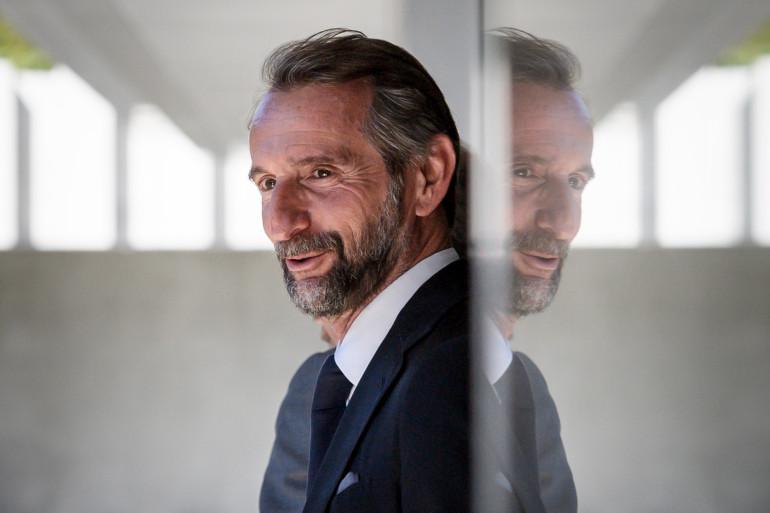 Jean-Claude Blanc, le directeur général délégué du PSG, le 20 avril 2018.