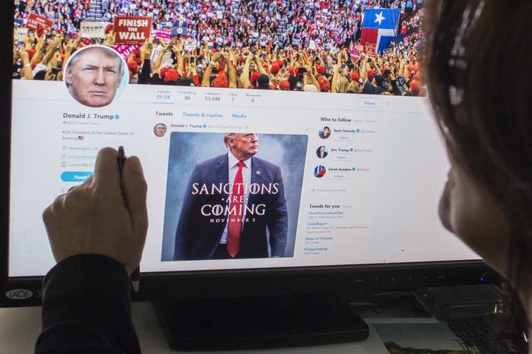 Donald Trump reprend Game of Thrones pour annoncer des sanctions contre l'Iran sur Twitter