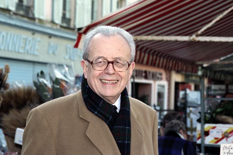 Jean-Paul Baréty, le 22 février 1994 à Nice (Alpes-Maritimes)