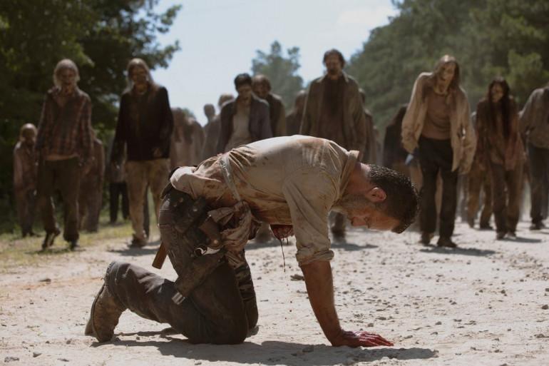 """Andrew Lincoln dans l'épisode """"What comes after"""" de """"The Walking Dead"""""""