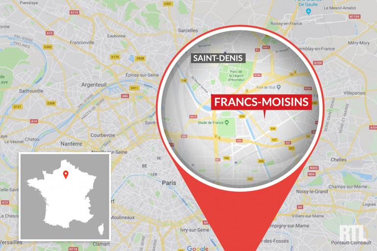 Le quartier des Francs-Moisins, en Seine-Saint-Denis.