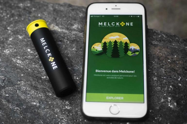 L'application Melckone et la balise Melckone Hunt