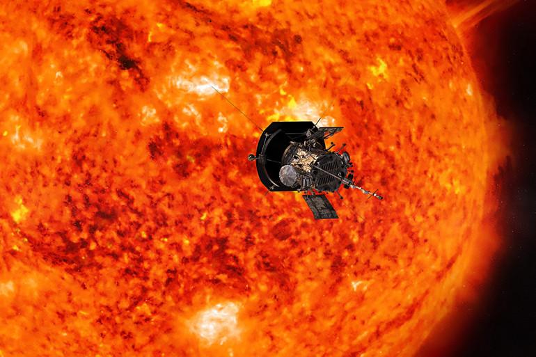 La sonde Parker Solar Probe a pour mission principale d'étudier notre Soleil
