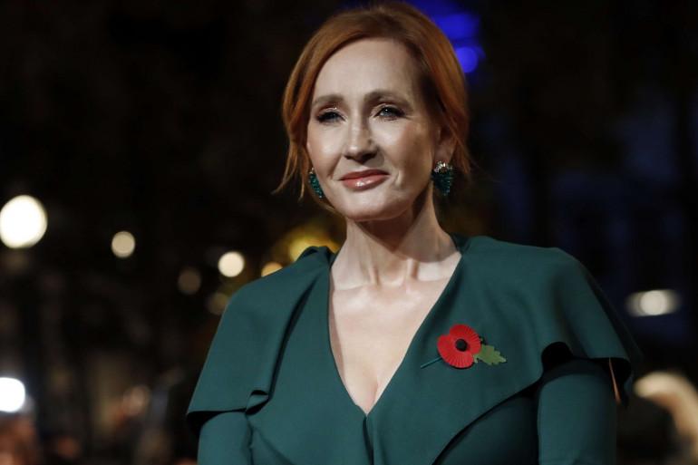 """J.K. Rowling à Paris le jeudi 4 novembre 2018 pour l'avant-première mondiale des """"Animaux fantastiques 2"""""""