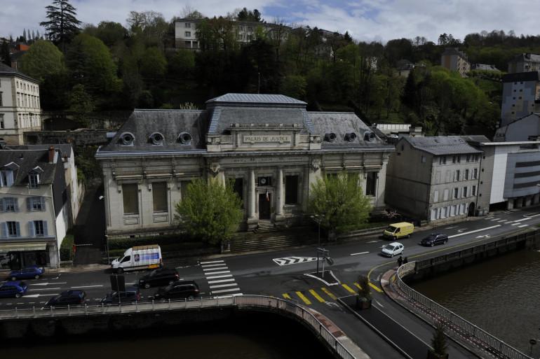 Le palais de justice de Tulle (illustration)