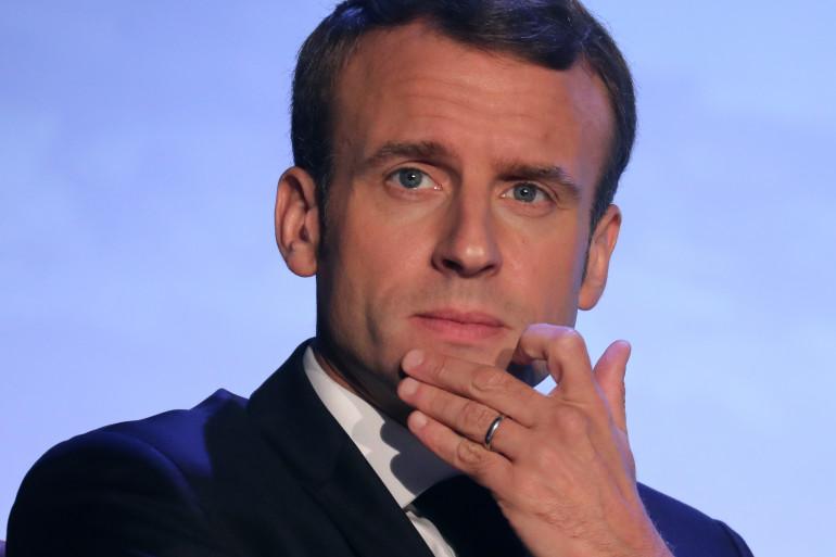 Emmanuel Macron, le 12 novembre 2018