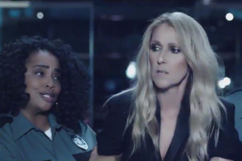 Céline Dion a publié cette publicité parodique sur son compte Twitter