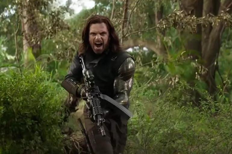 """Bucky Barnes dans """"Avengers : Infinity War"""""""