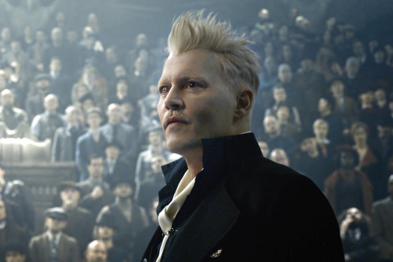 Johnny Depp dans le rôle de Gellert Grindelwald