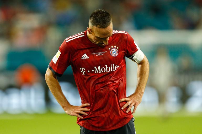 Franck Ribéry, l'attaquant du Bayern Munich, s'est excusé mercredi 14 novembre auprès du consultant de BeIN Sports Patrick Guillou
