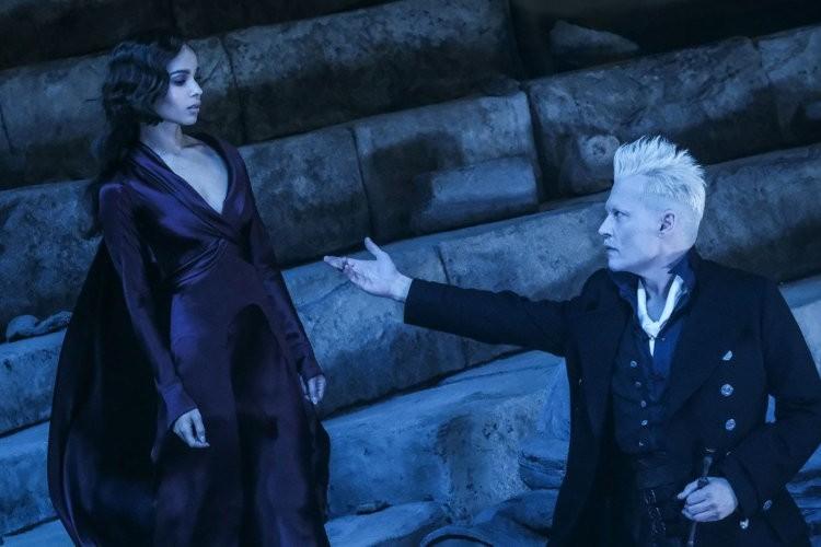 Leta Lestrange et Gellert Grindelwald