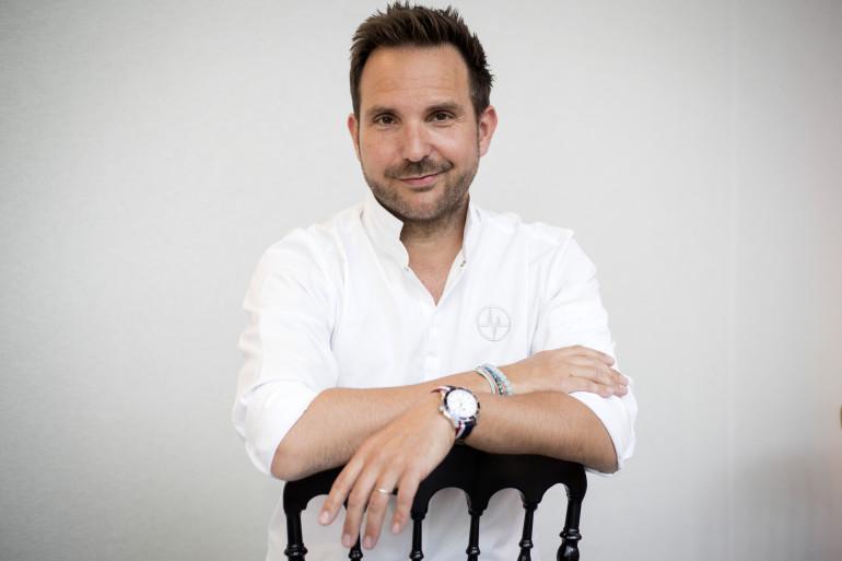 Le chef pâtissier Christophe Michalak en mai 2018