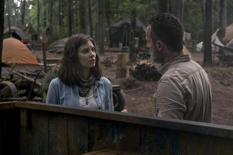 La dernière apparition de Maggie remonte à l'épisode 5 de la saison 9