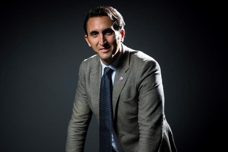 Le député LR du Vaucluse Julien Aubert