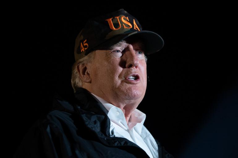 Donald Trump en visite en Californie après des incendies meurtriers