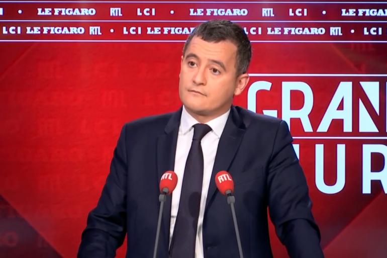 """Gérald Darmanin, invité du """"Grand Jury"""" le 25 novembre 2018"""