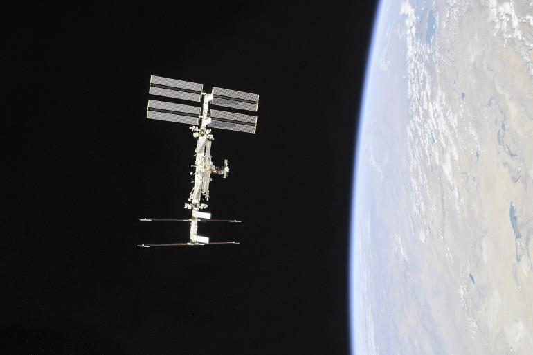 La Station spatiale internationale (ISS) le 4 novembre 2018