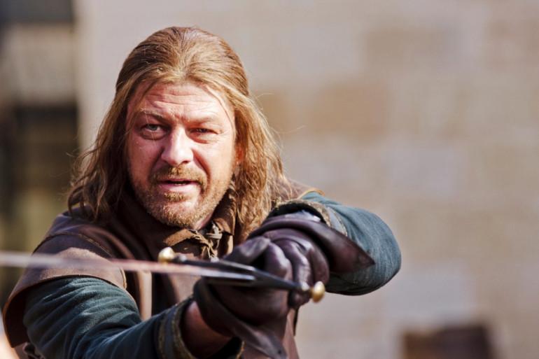Sean Bean dans le rôle de Ned Stark
