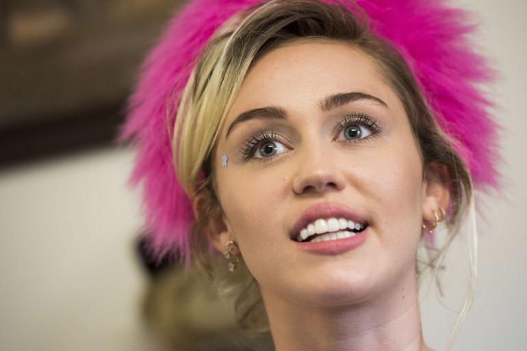 Miley Cyrus en mai 2017