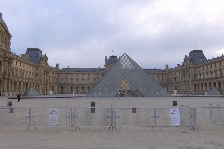 Le Louvre, samedi 8 décembre