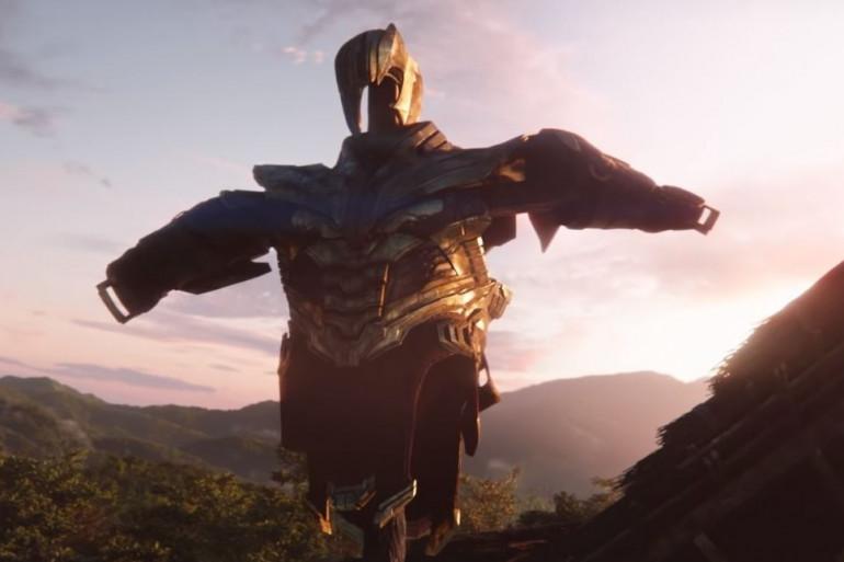 """L'armure de Thanos dans le trailer d'""""Avengers : Endgame"""""""