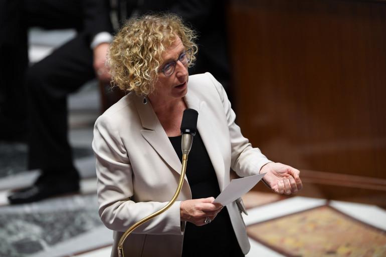 La ministre du Travail, Muriel Pénicaud, à l'Assemblée nationale